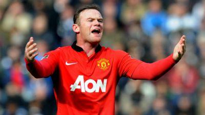 Wayne Rooney Manchester United Adidas