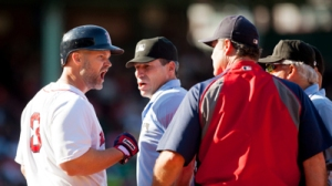 David Ross Ejected For First Time After Arguing Check Swing Strikeout