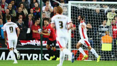 MK Dons vs Manchester United
