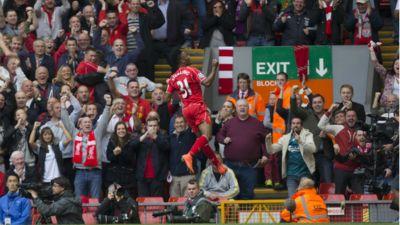 Raheem Sterling Liverpool Southampton