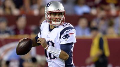 NFL: Preseason-New England Patriots at Washington Redskins