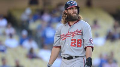 MLB: Washington Nationals at Los Angeles Dodgers