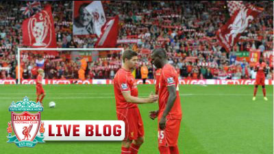 Mario Balotelli and Steven Gerrard