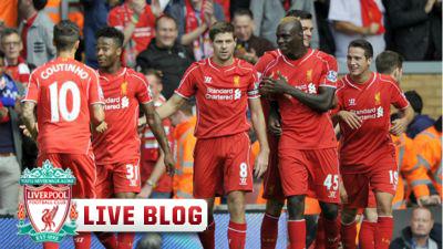 Steven Gerrard Liverpool Everton