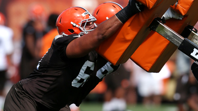 NFL: Cleveland Browns-Training Camp