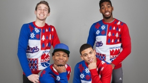 Kings Get Ready For Holidays With Awesomely Weird Ugly Sweater Photo Shoot