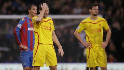 Steven Gerrard Crystal Palace Liverpool