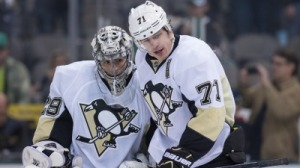 Evgeni Malkin Can't Believe Marc-Andre Fleury Has Won 300 Games (Video)