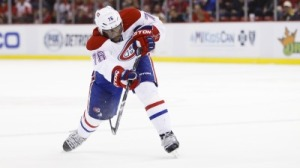 P.K. Subban's Goal Deflects Off Thigh Of Red Wings' Kyle Quincey (Video)