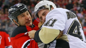 Devils' Jordan Tootoo Fights Robert Bortuzzo Twice In Same Period (Video)