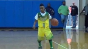 LeBron James' 10-Year-Old Son Already Rules On Basketball Court (Video)