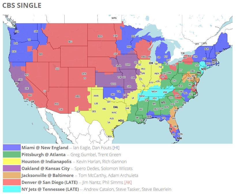 Nfl Week 15 Tv Schedule Maps Johnny Manziel Boosts Browns Bengals Tilt Nfl Nesn Com