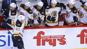 Brad Marchand's First-Period Goal Gives Bruins Early Lead Over Coyotes (Video)