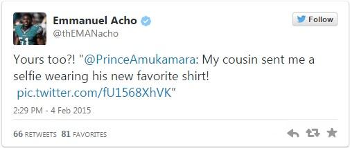 Emmanuel Acho Seahawks tweet