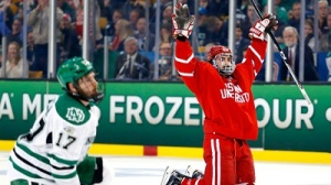 Frozen Four Live: BU Beats UND 5-3, Will Take On Providence In Final