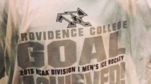 Providence National Champs T-Shirts, Pucks Among Items Already On Sale