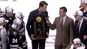 Championship Trophy Presenter Screws Up, Mistakes Providence For BU (Video)