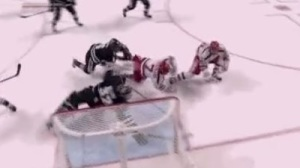 Providence's Jon Gillies Robs BU With Sprawling Save In Final Minute (GIF)