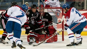 Reports: Northeastern, UMass-Lowell To Play In Belfast Hockey Tournament