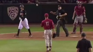 ASU Batter Catches Pitch That Hit Him, Throws It Back To Pitcher (Video)