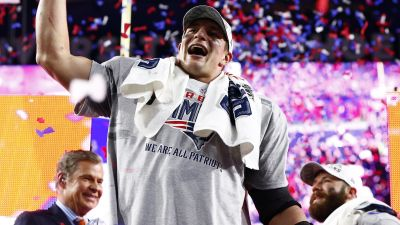 Patriots tight end Rob Gronkowski