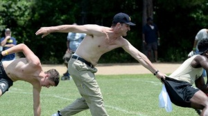 Jim Harbaugh Going Shirtless With Khakis Is Something You Need To See (Photos)
