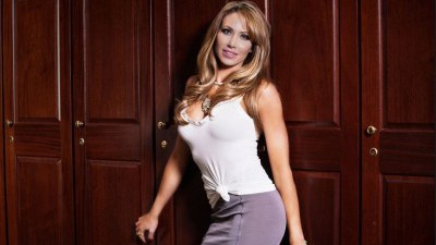 Holly Sonders photo shoot for being named most beautiful woman in golf