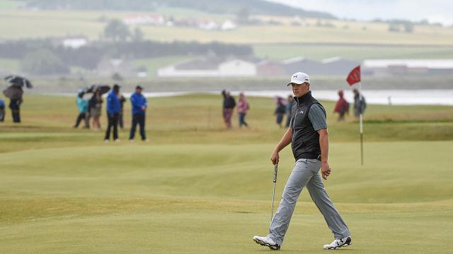 Jordan Spieth at the British Open