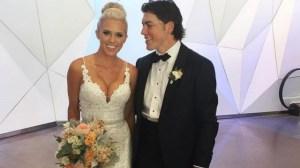 Capitals' T.J. Oshie Marries Longtime Girlfriend Lauren Cosgrove (Photos)