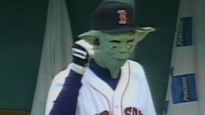 Pedro Martinez Yoda mask
