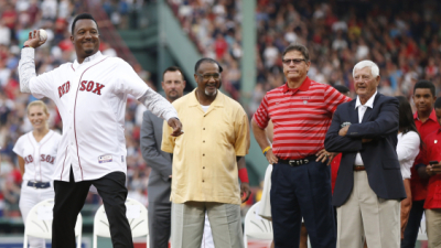 Hall of Fame pitcher Pedro Martinez