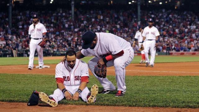 Boston Red Sox center fielder Mookie Betts