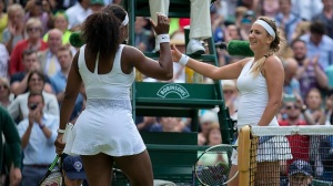 Serena Williams Squeaks By, Advances To Wimbledon Semifinals (Video)