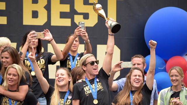 Soccer: Women's World Cup Champions Celebration