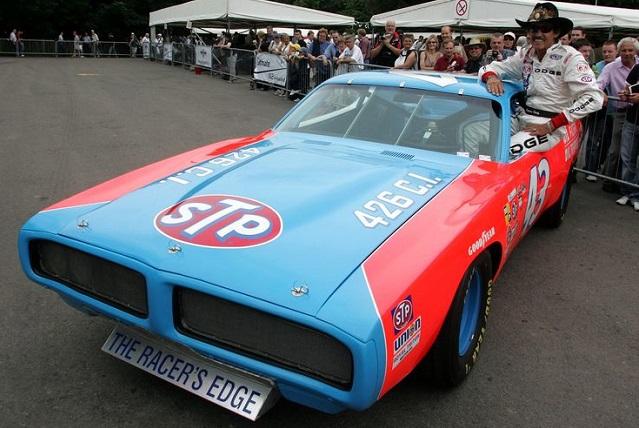 Richard Petty's iconic No. 43 STP car