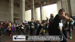 Bruins Partner With 'BOKs' Program Promoting Healthy Activity In Kids (Video)