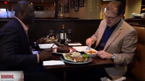 Dining Playbook: Jarvis Green, Keith Schultz Review Frank's Steakhouse (Video)