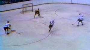 12 Days Of Orr: Bobby Blocks Two Blackhawks Shots Defending Empty Net (Video)