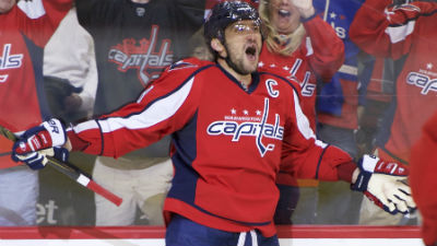 Washington Capitals left wing Alex Ovechkin