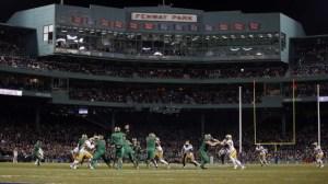 College Football Returns To Fenway Park In 2017 Fenway Gridiron Series
