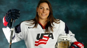 Hilary Knight, Denna Laing's Teammate: She's A Trooper, Has Great Spirit (Video)