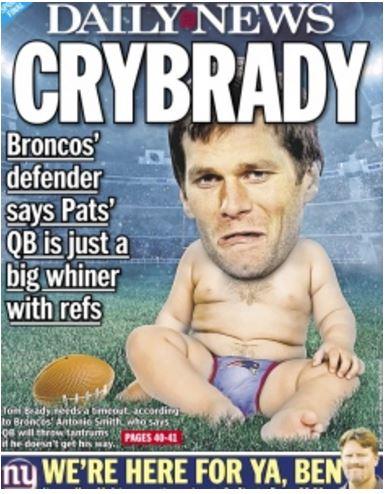 Tom Brady New York Daily News