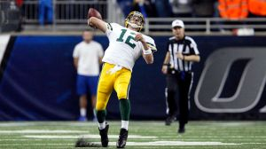 Aaron Rodgers Tells God To Thank His 'Son's Mother' For Hail Mary TDs