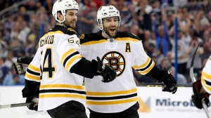 Claude Julien Pleased With Adam McQuaid, Patrice Bergeron In Returns (Video)