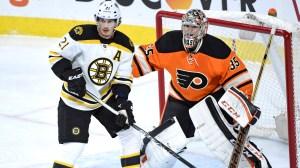 Bruins Morning Skate Report: Loui Eriksson Staying Focused Amid Trade Rumors