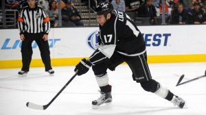 Which Two Players Assisted On Milan Lucic's First Career Goal?