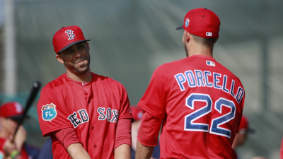 Boston Red Sox pitchers David Price and Rick Porcello