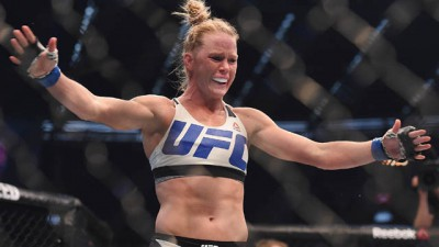 Holly Holm at UFC 193