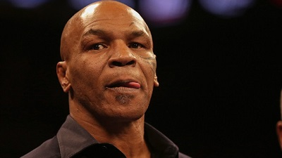 Former heavyweight boxing champion Mike Tyson