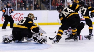 Tuukka Rask Flashes Glove, Makes Outstanding Save Vs. Blackhawks
